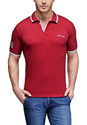 AWG All Weather Gear Men's Cotton T-Shirt (Red, XXXX-Large)