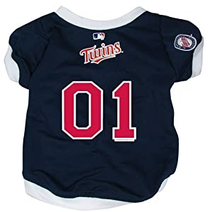 MLB Minnesota Twins Pet Jersey,  Small