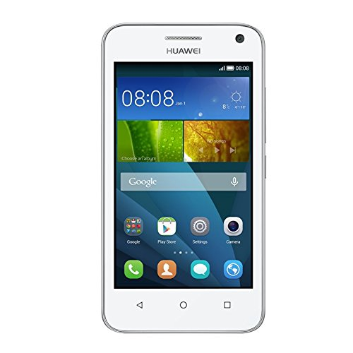 Huawei Y3 Smartphone, Display 4 Pollici IPS, Processore 1,3 GHz Quad-Core, Fotocamera 5 MP, Memoria 4 GB, Android 4.4,