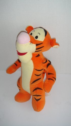 "Mattel Tigger Plush Toy 11"" Stuffed Animal Toy - 1"