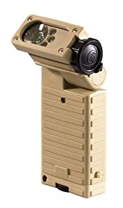 Streamlight 14002 Sidewinder Green LED Flashlight, Tan