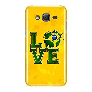a AND b Designer Printed Mobile Back Cover / Back Case For Samsung Galaxy J7 (SG_J7_3D_196)