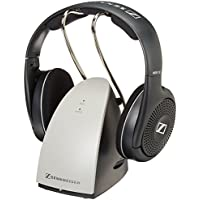 Sennheiser RS120 On-Ear RCA Digital RF Wireless Headphones (Black)