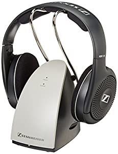 Sennheiser RS120 On Ear Wireless RF Headphones with Charging Cradle