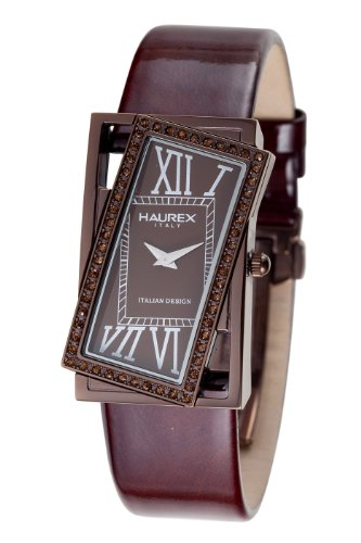 Haurex Italy Women's FH329DMM Ivresse Brown Dial Watch