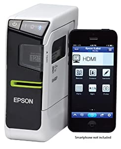 "Epson LabelWorks LW-600P App-enabled, Portable Label Printer with Bonus 1"" (24mm) Tape Cartridge"
