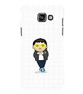Ebby Premium Printed Mobile Back Case Cover With Full protection For Samsung Galaxy A3 A310 (2016 Edition) (Designer Case)