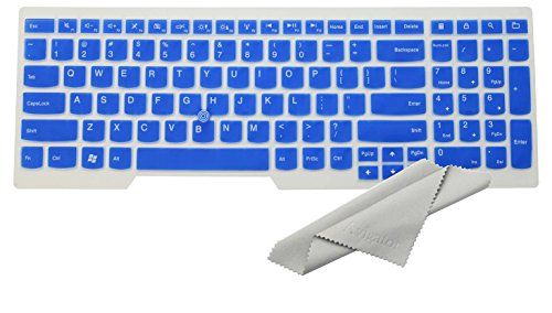 Avigator Translucent Blue Ultra Thin Silicone Keyboard - Import It All