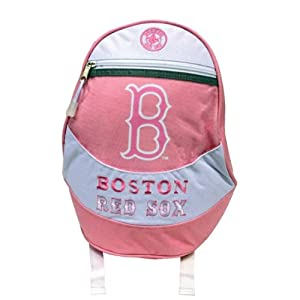 Boston Red Sox Logo Merchandise Pink Youth Backpack