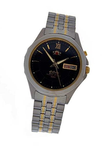 Orient Uhr Herrenuhr mit Datum FEM5C00PB9 Automatik 4854
