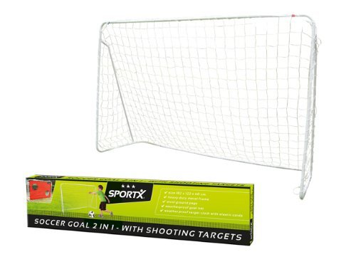 Sportx A10557 - Soccer Goal mit Targe, 182 cm by SPORTX