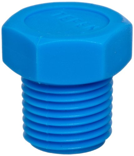 1//4 Hose ID x 1//4 NPT Male Tefen Nylon 66 Hose Fitting Pack of 10 90 Degree Elbow Adapter Gray