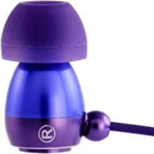 buy Gaiam Aluminum Ear Buds With Microphone - Purple (30760)