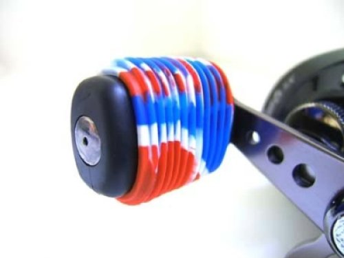 Reel Grip 1144 Reel Handle Cover, Patriotic Tie Dye Finish (Fishing Reel Grips compare prices)