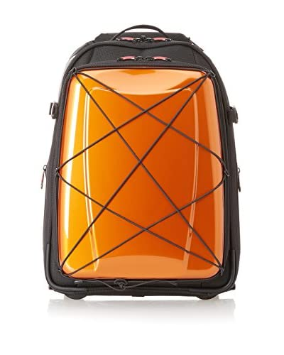 Hideo Wakamatsu Unisex Hybrid 2-Way Carry On, Orange, One Size