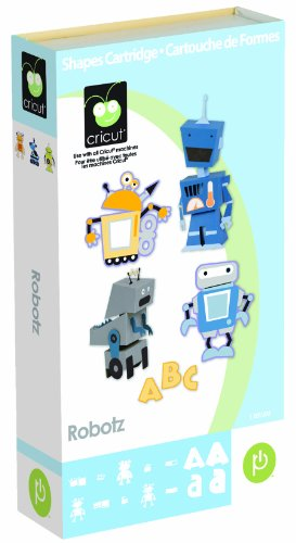 Cricut Cartridge, Robotz