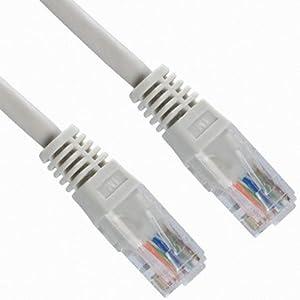 CABLING® Câble raccordement RJ45 FTP blindé Ethernet réseau Cat5e 5e 3m - Cordon réseau RJ 45 de 3 métres.
