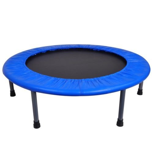36-Round-Fitness-Mini-Trampoline-Folding-Rebounder-Indoor-Exercise-Kid