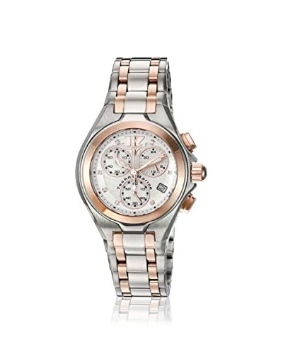 TechnoMarine Women's TM-215020 Blue Manta Neo Classic Steel/Rose Gold/Silver Solid Stainless Steel W...