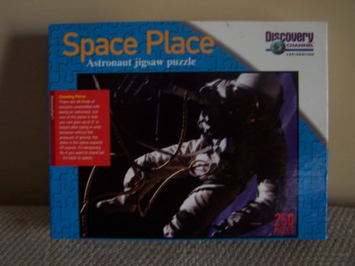 Discovery Channel Space Place Astronaut Jigsaw Puzzle - 1