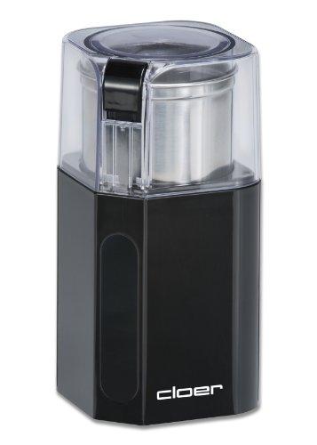 7580 Elektrische Kaffeemühle / 200 W / für 70 g Kaffeebohnen / abnembarer Edelstahlbehälter / schwarz