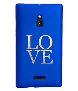 KolorEdge Back Cover For Nokia XL - Royal Blue (1906-Ke15114NokiaXLRBlue3D)