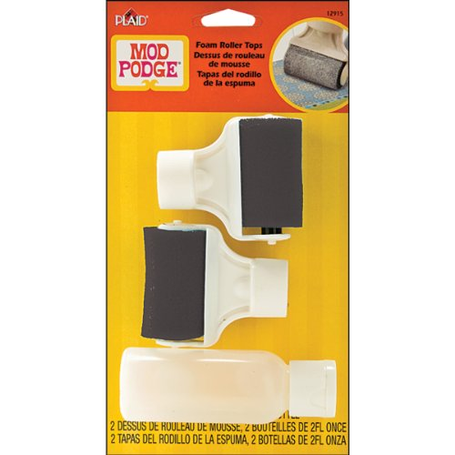 Plaid Mod Podge 12915 Roller Tops with Bottle