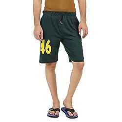 Hotfits green graphic summer shorts