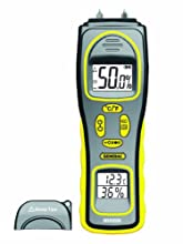 General Tools & Instruments MMH800 Moisture Meter, Pin Type or Pinless, Temperature and Humidity