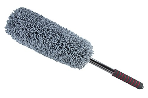 ultimate car duster the best microfiber multipurpose duster exterior or interior use lint. Black Bedroom Furniture Sets. Home Design Ideas