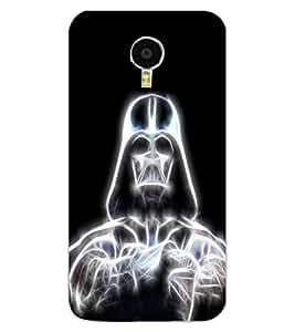 ColourCraft Digital Skeleton Design Back Case Cover for MEIZU M3 NOTE