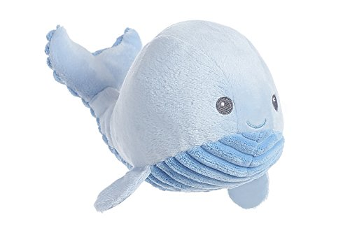 "Spouts Baby Blue Whale Small 9"" by Aurora"