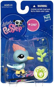Buy Low Price Hasbro Littlest Pet Shop Get The Pets Single Figure Woodpecker (B0041SKE12)