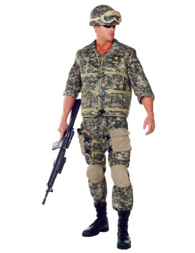 U.s. Army Ranger Deluxe Adult Costume Xl Adult Mens Costume