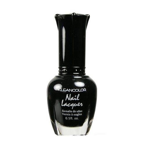 Kleancolor Nail Lacquer - Black 5