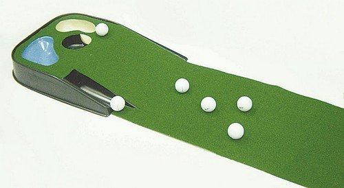 Golf Putting Mat With Ball Return Golf Hazard Putting Mat With