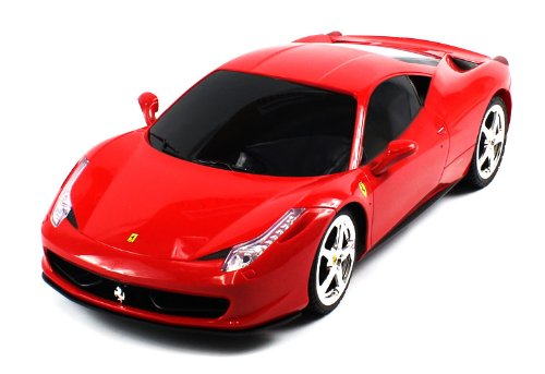 BIG Licensed Electric Full Function 1:12 Ferrari 458 Italia RTR RC Car RECHARGEABLE