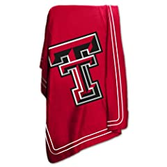 Brand New Texas Tech Red Raiders NCAA Classic Fleece Blanket by Things for You