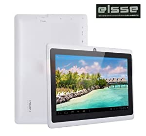 """Elsse 7"""" 5-Point Capacitive Screen Tablet Pc Android 4.0 - A13 512Mb 4Gb With Camera"""