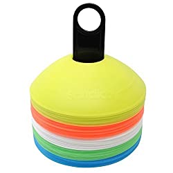 PS Pilot Training Cone Marker- 2 Inches (Set of 100 of 5 colors) - BEST OFFER DON'T MISS