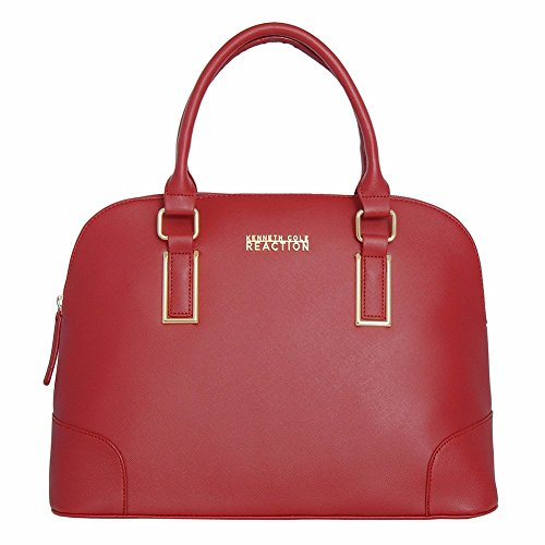 Kenneth-Cole-Reaction-KN1597-Dome-Womens-Purse-Top-Handle-Satchel-Handbag