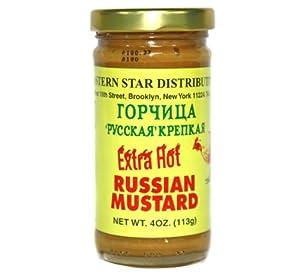 Eastern Star Hot Russian Mustard 100g/4oz
