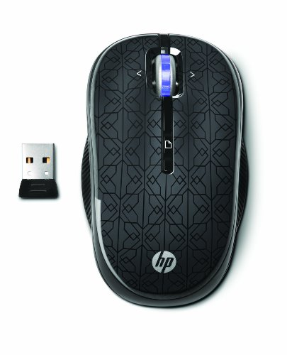 Hp 2.4Ghz Wireless Optical Mobile Mouse (Black)
