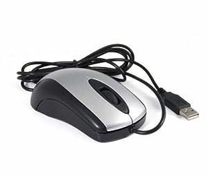 iMicro MO-5013U USB Optical Mouse (Black/Silver), Bulk