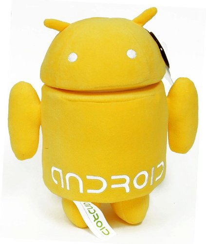 Android 6 Plush Yellow