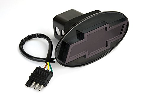 Reese Towpower 86530 Black Finish Chevrolet Bow Tie Lighted Hitch Cover (Reese Lighted Hitch Cover compare prices)