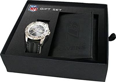 Game Time Men's Watch and Wallet NFL