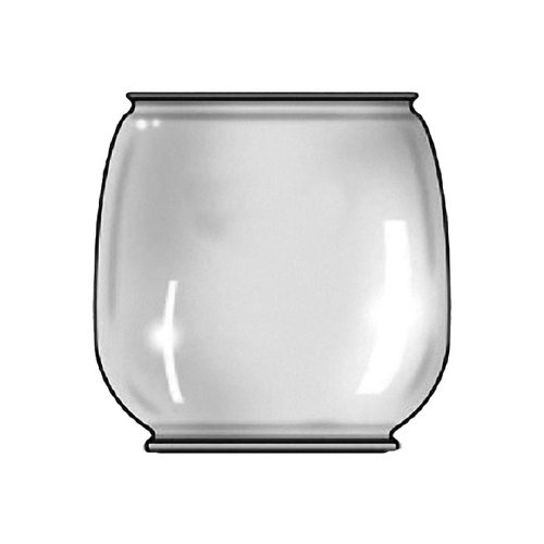 Dietz L00889 Replacement Glass Globe for 8 Air Pilot Lantern