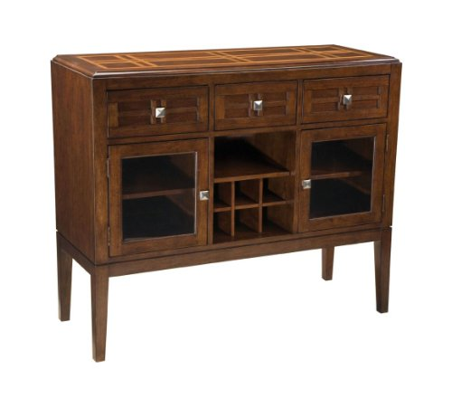 Buy Low Price Standard Furniture City Gazebo Ii Sideboard In Dutch Chocolate Brown Finish by Standard Furniture (B005924ES8)