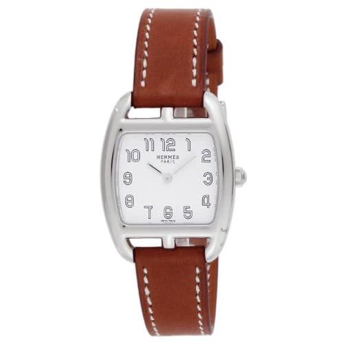 [エルメス]HERMES 腕時計 ケープコッドトノー ホワイト文字盤 カーフ革ベルト CT1.210.130.VBA レディース 【並行輸入品】